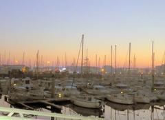 Froid Les Sables-d'Olonne 85100 Matin froid sur le port de plaisance de PORT OLONNA
