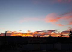 Ciel Peyruis 04310 Lever du soleil