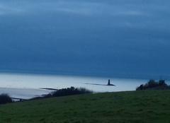 Nuages à l'horizon