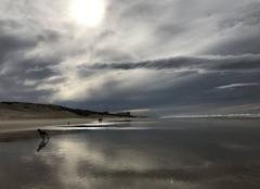 Mer Biscarrosse 40600 Avant la tempête