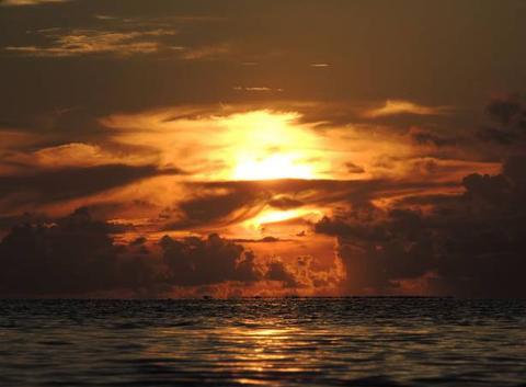 Coucher de soleil Haapiti