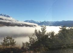 Mer de nuage sur le Lac de Serre Ponçon