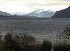 Le lac agité