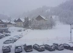 Valloire sous la neige