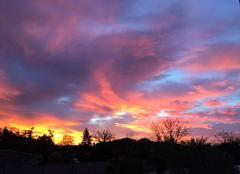 Ciel Ambres 81500 Soleil levant