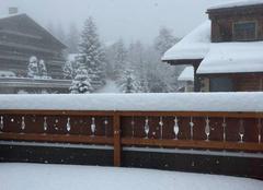 Neige Saint-Florent 20217 Troisième jour de neige