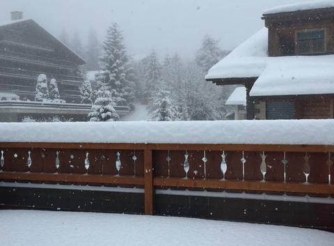 Troisième jour de neige