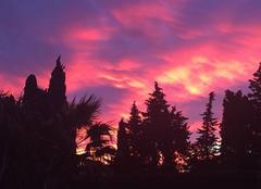 Ciel Corneilla-la-Riviere 66550 Levé du jour