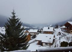 Neige à Saint Jean de sixt