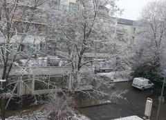 Neige sur Mulhouse