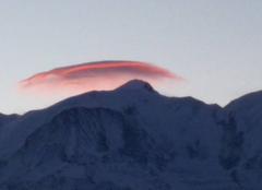 Le Mont Blanc vu de Sallanches - 74 Haute Savoie