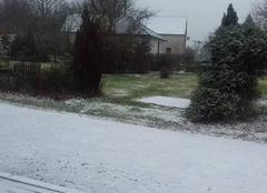 Neige Nouzerolles 23360 Jardin sous la neige