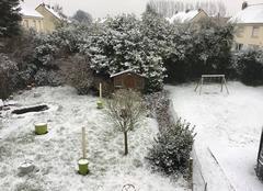 Neige à calais