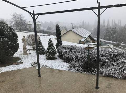 Neige à Andelot