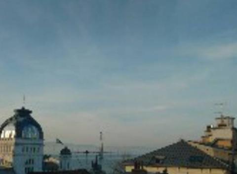 Vue des toits d'Évian