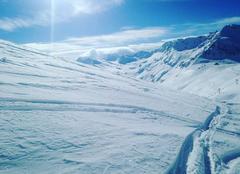 Neige Bonneval-sur-Arc 73480 Glacier du Pissaillas Val d'Isère