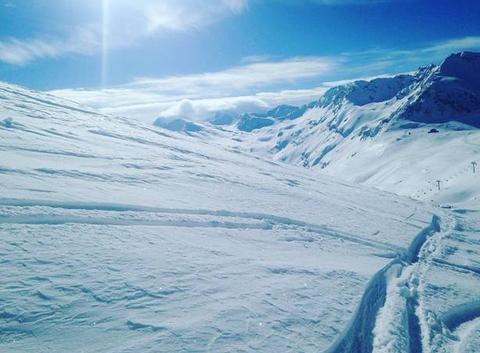 Glacier du Pissaillas Val d'Isère
