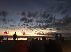 Ciel Bali Coucher de soleil