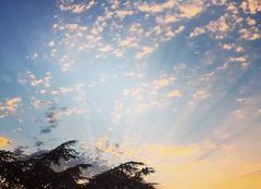 Ciel Vendome 41100 Coucher du soleil