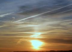 Lever de Soleil le Jeudi 16 février à St Lézer.