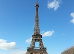 Douceur et ciel bleu à Paris