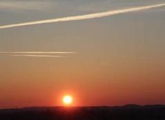 Lever de Soleil le Vendredi 17 Février à 8 h sur St Lézer.