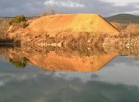 Ombre et lumière au lac de la Cisba