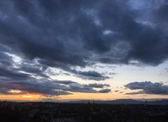 Ciel Mulhouse 68200 Février