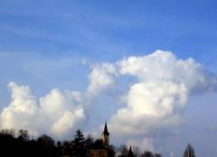 Ciel de St Lézer de ce dimanche 19 Février 2017 à St lézer.