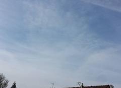 Ciel Crevecoeur-le-Grand 60360 Ciel ensoleillée