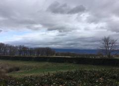 Plaine moursoise sous les nuages