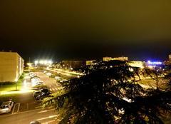 Ciel couvert au dessus de la ville de Niort
