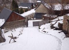 Neige Saint-Paul-d'Oueil 31110 Neige dans les Pyrénées !!