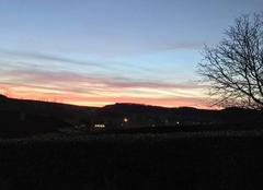 Ciel Montaigu-de-Quercy 82150 Coucher de soleil