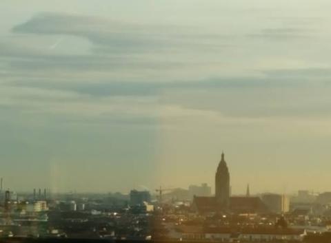 Levé du soleil sur berlin