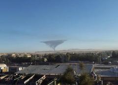 Des essais nucléaire à Hassi Messaoud. ( photo prise par BELLAL Belaid )