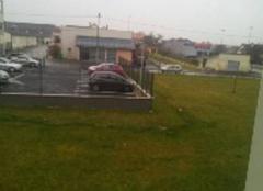 Violente pluie a Amiens