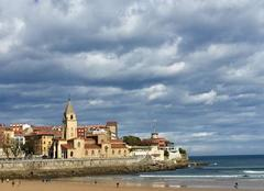 Nuages Gijón 33200 Hiver en Asturies