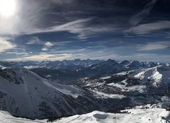 Point culminant du domaine de ski de la Voie lactée