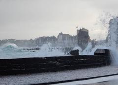Marée à St Malo