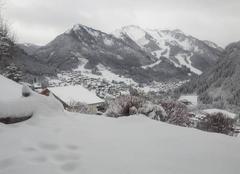 Neige Chatel 74390 L'hiver remplace le printemps à Châtel