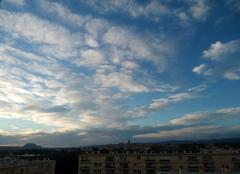 Beau temps avec quelques nuages