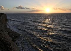 Ciel Nieul-sur-Mer 17137 Coucher de soleil