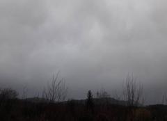 La Rochette ciel couvert