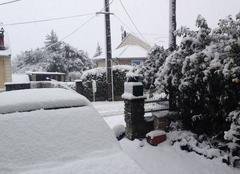 Neige Mazamet 81200 Mazamet sous la neige