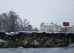 Aurillac sous la neige