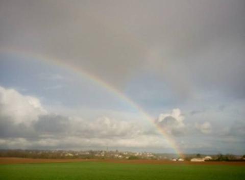 Arc en ciel sur Montamisé