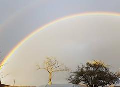 Ciel Ticheville 61120 Un arc en ciel