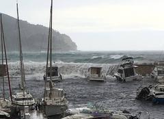 Tempête sur St Cyr sur Mer