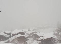 Valmorel sous la neige